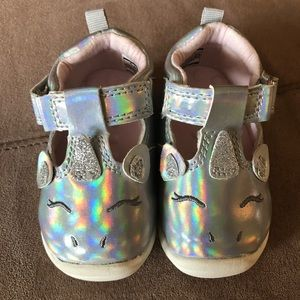 Carters Unicorn Shoes Size 2
